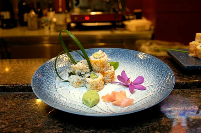 Interactive Sushi and Sake Experience
